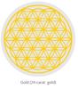 Bild von Pinus Cembra Wasser-Karaffe Alladin 1,3l  mit Lebensblume gold