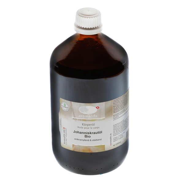 Bild von Johanniskrautöl Bio 1l