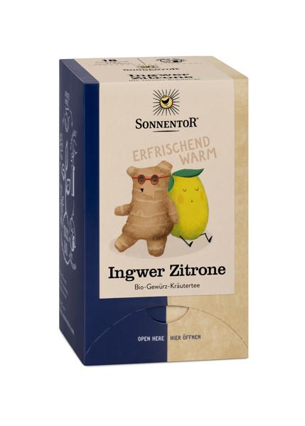 Bild von Ingwer Zitronen Tee Btl. à18