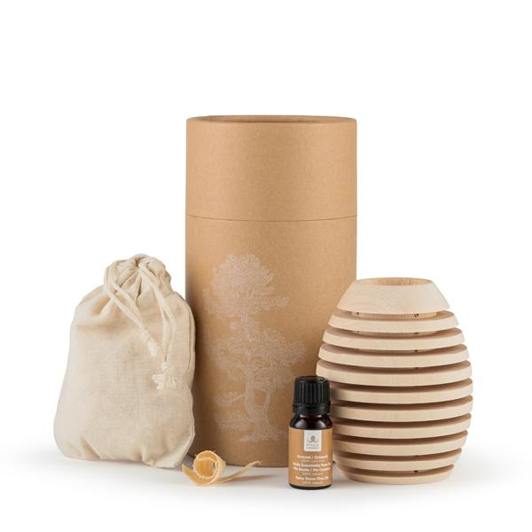 Bild von Pinus Cembra Duftholz Pine XL inkl. äth. Öl und Späne