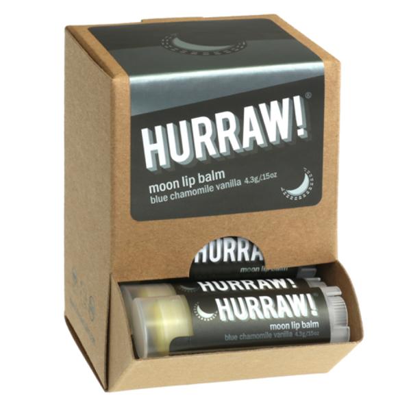 Bild von HURRAW! Moon Lip Balm Display à 24 Stück