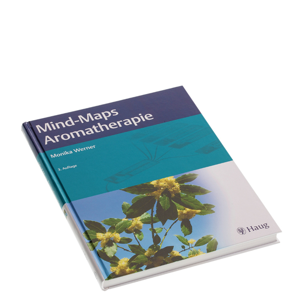 """Bild von Buch """"Mind Maps Aromatherapie"""" von M. Werner"""