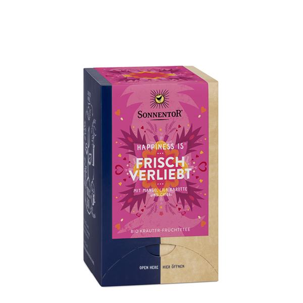 Bild von Happiness is Frisch verliebt Tee Btl. à18