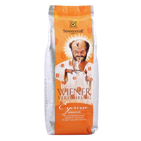 Bild von Wiener Verführung Espresso Kaffee Bohnen gemahlen 500g