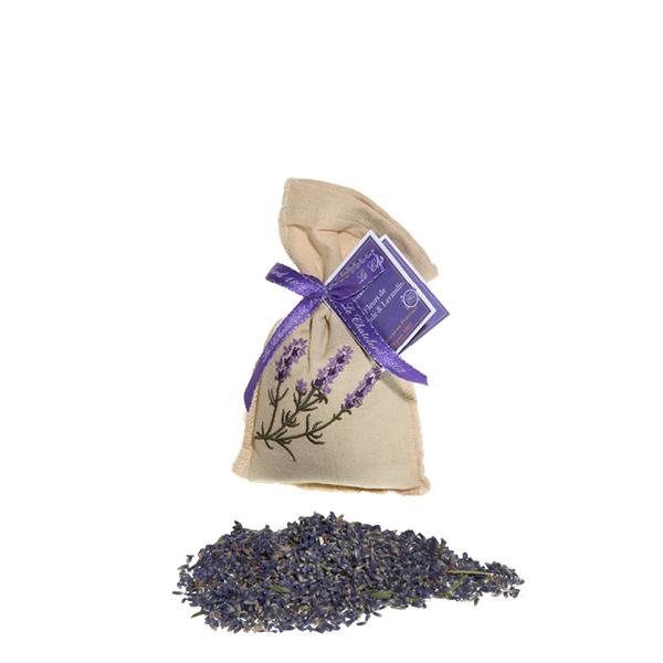 Bild von Lavendel Säckli 25g im Leinenbeutel