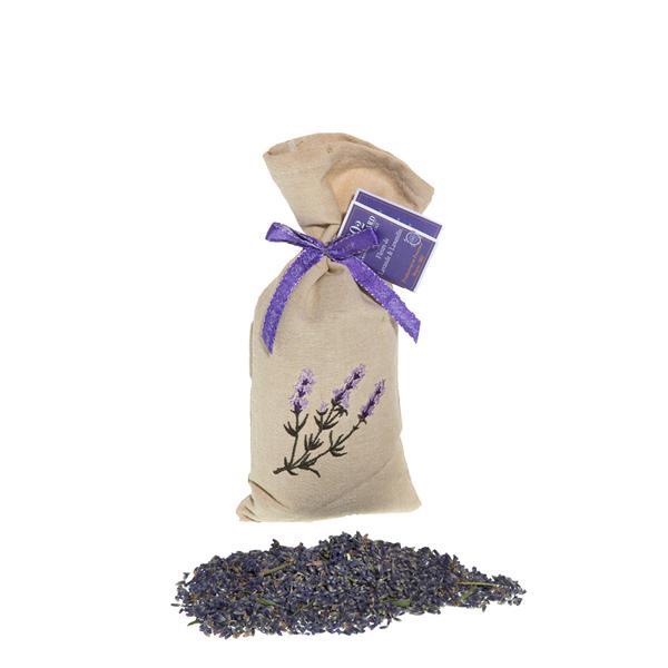 Bild von Lavendel Säckli 50g im Leinenbeutel