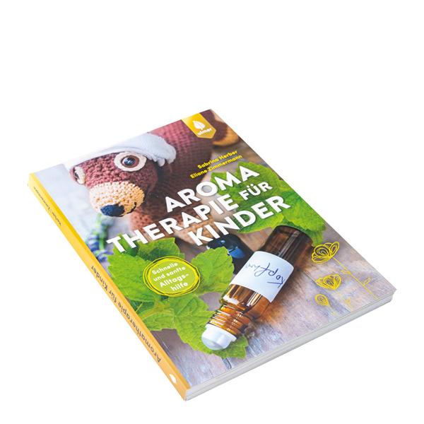 """Bild von Buch """"Aromatherapie für Kinder """" von E. Zimmermann und S. Herber"""