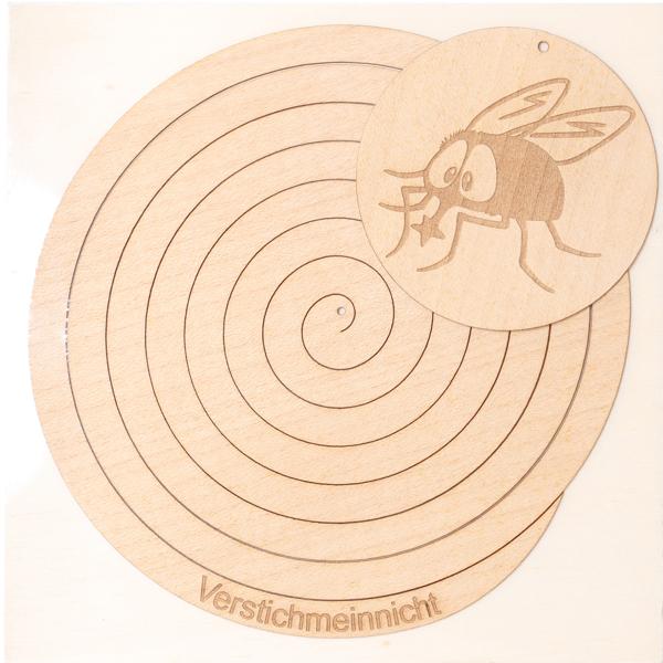 Bild von VerstichMeinNicht® Holzspirale