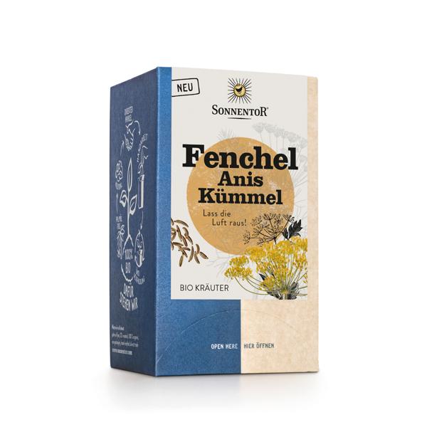 Bild von Fenchel Anis Kümmel Tee Btl à18