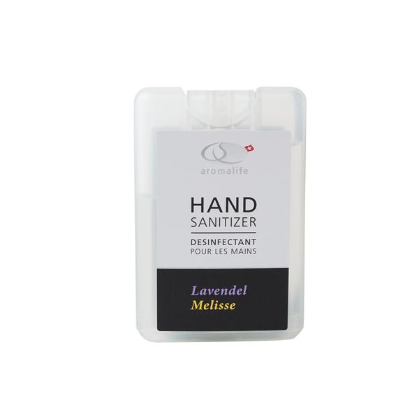 Bild von Display Handsanitizer Lavendel-Melisse à 11Stk.