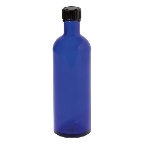 Bild von Blauglasflasche 200ml inklusive Schraubverschluss